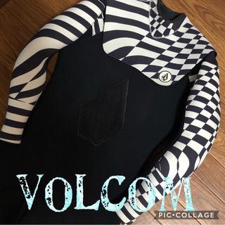 ボルコム(volcom)のvolcom wetボルコム ウエットスーツ L size 水着 タッパ 激レア(サーフィン)