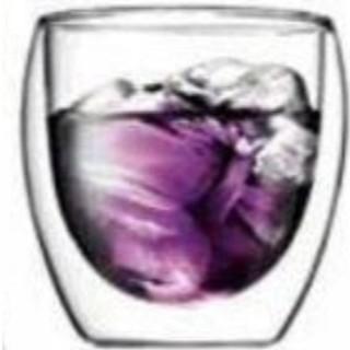 ボダム(bodum)の250ml×1 ボダムPAVINAダブルウォールグラス 北欧 デンマーク(グラス/カップ)