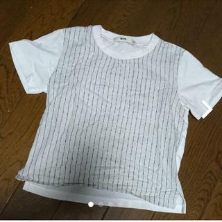 エムピーエス(MPS)のmps ストライプ Tシャツ(Tシャツ/カットソー)