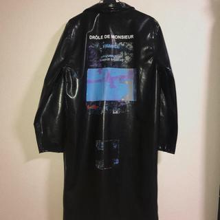 シュプリーム(Supreme)のDROLE DE MONSIEUR PVC コート レインコート (ステンカラーコート)
