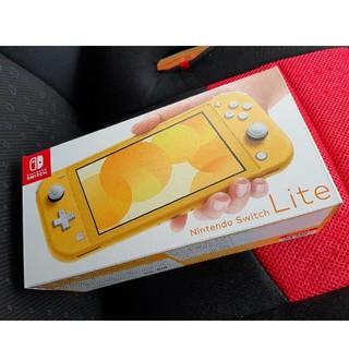 ニンテンドースイッチ(Nintendo Switch)の新品☆日本版 NINTENDO SWITCH LITE イエ…(携帯用ゲーム機本体)