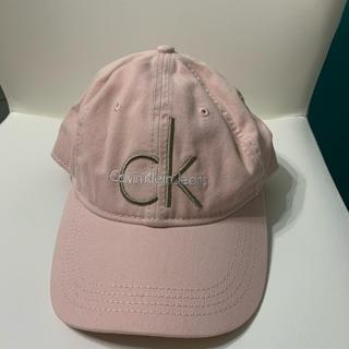 カルバンクライン(Calvin Klein)の大人気 CK カルバンクライン ロゴ キャップ ピンク(キャップ)
