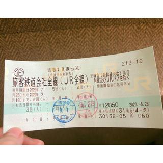 ジェイアール(JR)の青春18きっぷ🌟2回分(鉄道乗車券)