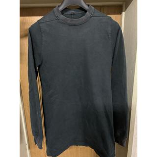 リックオウエンス(Rick Owens)のリックオウエンス 長袖 Tシャツ スウェット ロングスリーブ (Tシャツ/カットソー(七分/長袖))