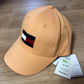 トミーヒルフィガー(TOMMY HILFIGER)のお値下げ! トミーヒルフィガー BIG FLAG CAP  新品!(帽子)