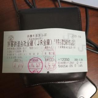 青春18キップ 1回(鉄道乗車券)