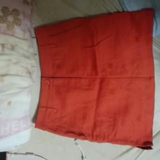 トミーヒルフィガー(TOMMY HILFIGER)のトミーヒルヒガーのスカートお値下げしました。(ミニスカート)