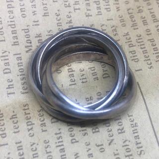 シルバー925五連リング SILVER925 シルバー925指輪 三連リング(リング(指輪))