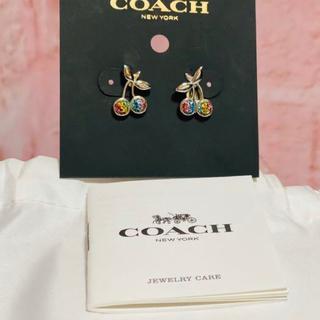 コーチ(COACH)のコーチ ピアス チェリー(ピアス)