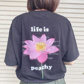 カーハート(carhartt)の9090 × over print Hoodie Lotus Tee XL(Tシャツ(半袖/袖なし))