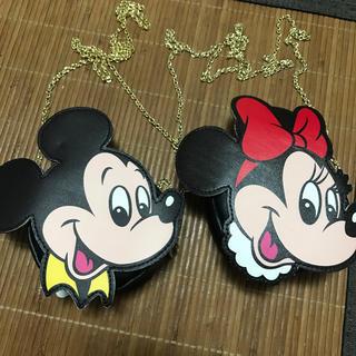 ミッキーマウス(ミッキーマウス)のミッキー ♡ミニー チェーンポシェット(ショルダーバッグ)