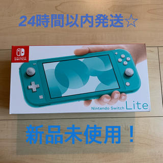 ニンテンドースイッチ(Nintendo Switch)のNintendo Switch lite 任天堂 スイッチライト ターコイズ(携帯用ゲーム機本体)