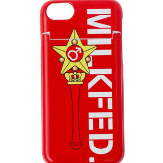 MILKFED. - ミルクフェド  iPhone カバーケース セーラームーン  マーズ 鏡付き