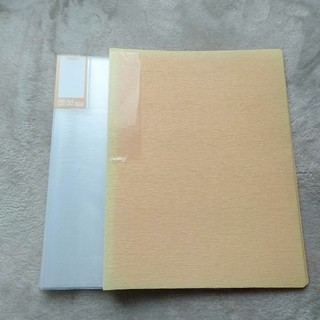 A4ファイル2冊(クリアファイル)
