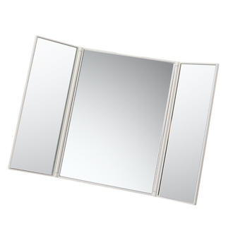 ムジルシリョウヒン(MUJI (無印良品))の無印良品 折りたたみ3面鏡(卓上ミラー)
