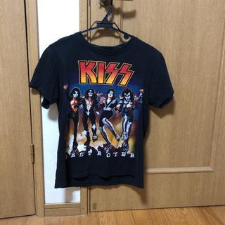 KISS Tシャツ 古着 バンドT(Tシャツ/カットソー(半袖/袖なし))