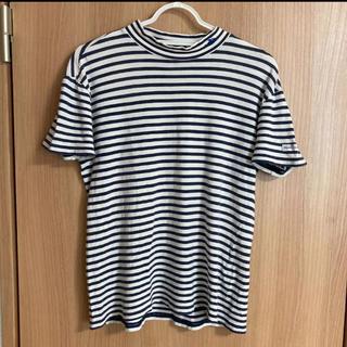 パーリーゲイツ(PEARLY GATES)のパーリーゲイツ 首元 ワンポイント ボーダーシャツ tシャツ レディース 2(Tシャツ(半袖/袖なし))