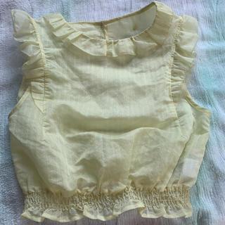 ココディール(COCO DEAL)の袖なしブラウス(シャツ/ブラウス(半袖/袖なし))