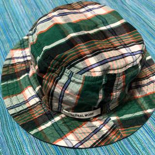 グローバルワーク(GLOBAL WORK)のリバーシブル キッズ 帽子(帽子)