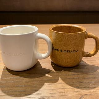 DEAN & DELUCA - 新作‼️  DEAN &  DELUCA  マグカップ ブラウン&ホワイト 2個