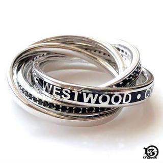 ヴィヴィアンウエストウッド(Vivienne Westwood)のvivienne westwood 5連リング ダスティンリング(リング(指輪))
