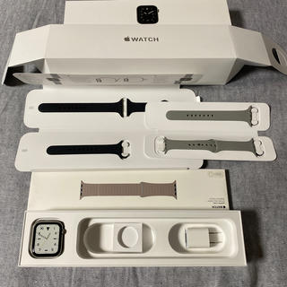 アップルウォッチ(Apple Watch)のUS版 AppleWatch Series5 edition 44mm (腕時計(デジタル))