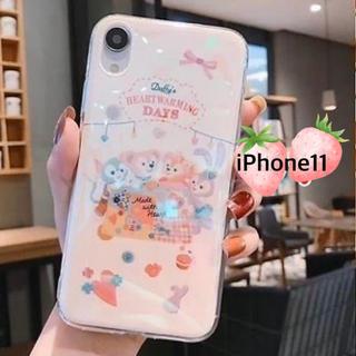 ダッフィー(ダッフィー)のiPhone11ケース ダッフィー  ディズニー(iPhoneケース)