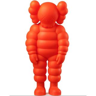 KAWS What Party Figure Orange  カウズ オレンジ(その他)