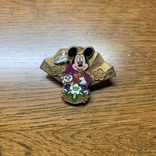 ミッキーマウス(ミッキーマウス)の★ミッキーマウス ピンバッチ 招福 ディズニー(バッジ/ピンバッジ)