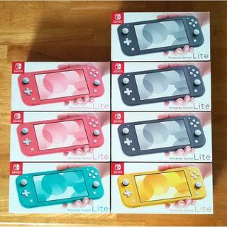 ニンテンドースイッチ(Nintendo Switch)の新品 7台 Nintendo Switch Lite本体(家庭用ゲーム機本体)