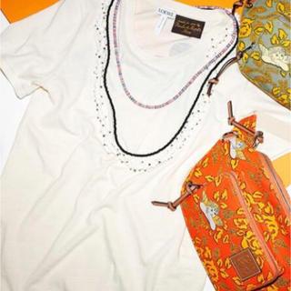 ロエベ(LOEWE)のLOEWE ネックレス付きTシャツ(Tシャツ(半袖/袖なし))