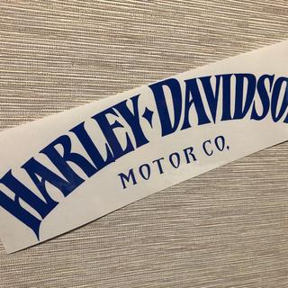 ハーレーダビッドソン(Harley Davidson)のハーレー カッティングステッカー 横幅30㎝(ステッカー)