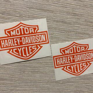 ハーレーダビッドソン(Harley Davidson)のハーレー カッティングステッカー h10(ステッカー)