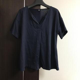 ユニクロ(UNIQLO)のマーセライズコットンキーネックT(Tシャツ(半袖/袖なし))