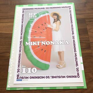 モーニングムスメ(モーニング娘。)の野中美希 ピンナップポスター(アイドルグッズ)