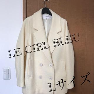 ルシェルブルー(LE CIEL BLEU)のLE CIEL BLEU コート 40サイズ L(チェスターコート)