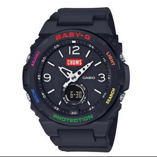 ベビージー(Baby-G)のCHUMS Baby-G BGA-260CH-1AJR 国内正規品 新品未使用(腕時計)