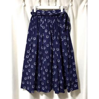 コムデギャルソン(COMME des GARCONS)のCOMME des GARCONS GIRL リバーシブル スカート S(ロングスカート)