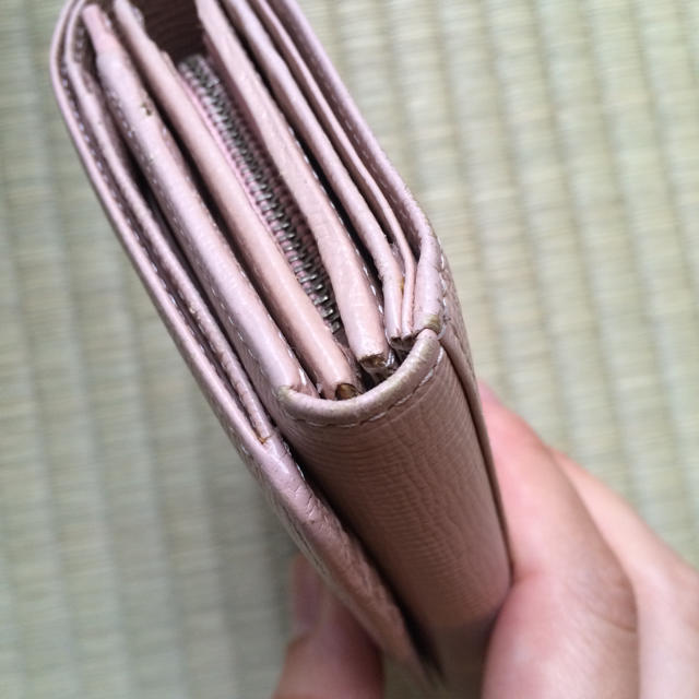 0306ac6a9637 COMME CA DU MODE(コムサデモード)のコムサ 三つ折り財布 レディースのファッション小物