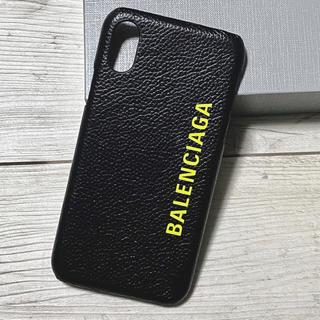 バレンシアガ(Balenciaga)の新品 バレンシアガ iPhoneケース iPhone X / XS 正規品(iPhoneケース)