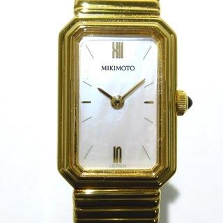 ミキモト(MIKIMOTO)のミキモト 腕時計美品  - 522-0339(腕時計)