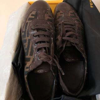 フェンディ(FENDI)のFENDI レディース 靴 本革レザー(ローファー/革靴)