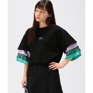 フラボア(FRAPBOIS)のフラボア ミップル カットソー ブラック(Tシャツ(半袖/袖なし))