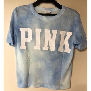 ヴィクトリアズシークレット(Victoria's Secret)のVictoria's Secret PINK トップス タイダイ柄(Tシャツ(半袖/袖なし))