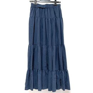 ノーブル(Noble)のノーブル ロングスカート サイズ38 M美品 (ロングスカート)