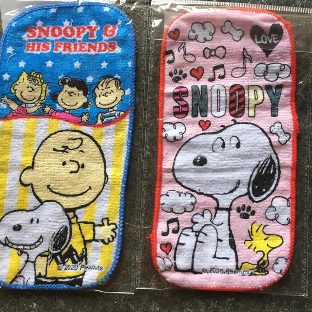 SNOOPY(スヌーピー)のスヌーピー  ポケットミニタオル エンタメ/ホビーのアニメグッズ(タオル)の商品写真