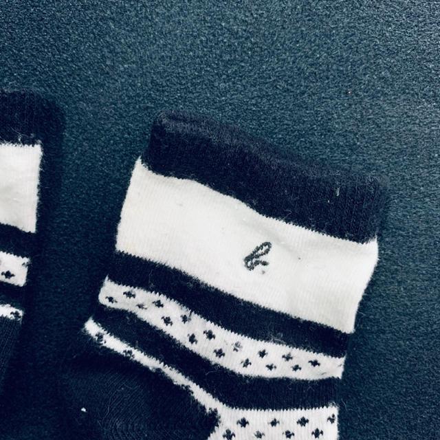 agnes b.(アニエスベー)のアニエス・ベー 靴下 くつ下 ベビー キッズ キッズ/ベビー/マタニティのこども用ファッション小物(靴下/タイツ)の商品写真