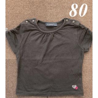 バーバリー(BURBERRY)のバーバリー  Tシャツ 80cm(Tシャツ)