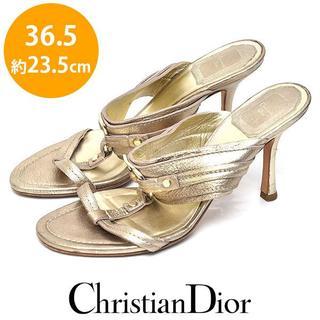 クリスチャンディオール(Christian Dior)のディオール CDロゴ サンダル 36.5(約23.5cm)(サンダル)