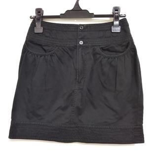 ツモリチサト(TSUMORI CHISATO)のツモリチサト ミニスカート サイズ1 S 黒(ミニスカート)